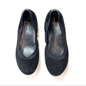 Cole Haan Gilmore Suede Ballet Flat
